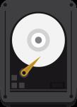 ikona dysku w obudowie zewnętrznej